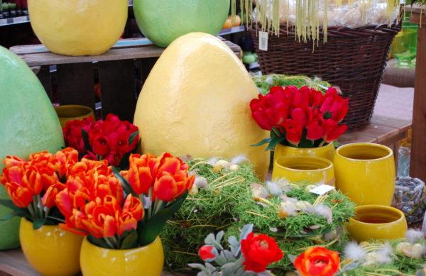 Frühlings- und Osterdekoration