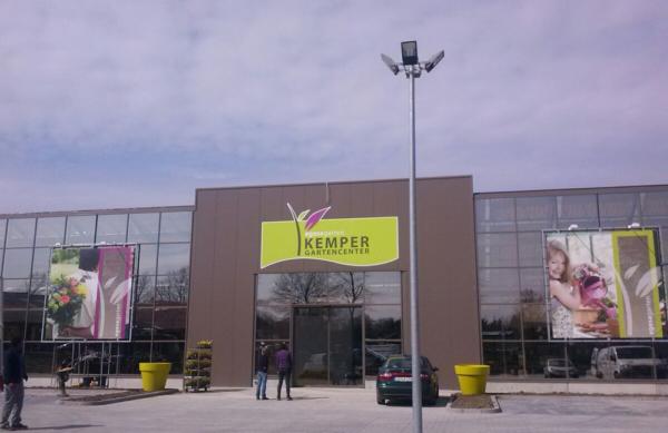 Unser Gartencenter in Hagen entsteht...