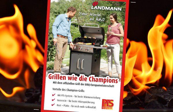 Landmann: Grillen wie die Champions